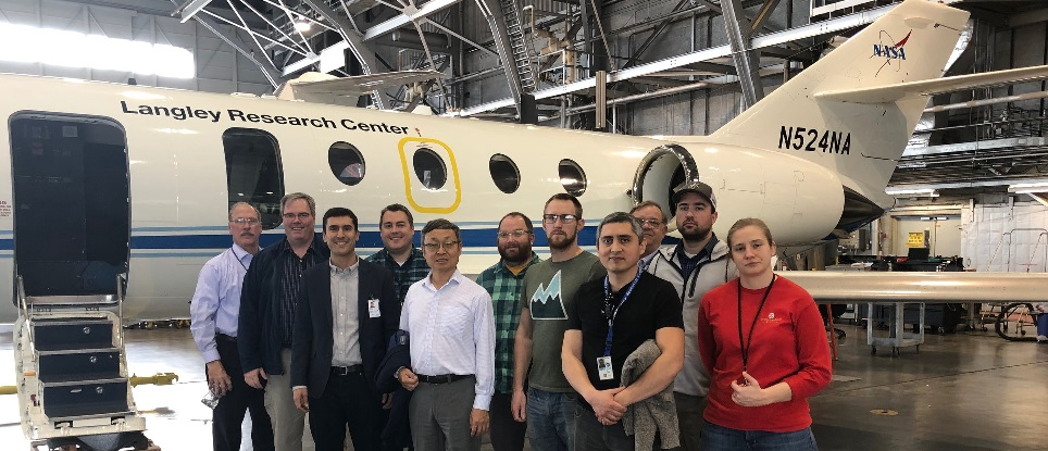 Photo NASA ACTIVATE Team at Langley Research Center