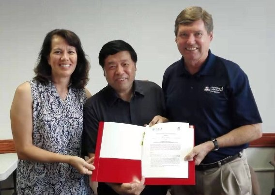 Photo HAS Faculty and Hohai University Sign MOU for New 3+2 Degree Program in Hydrology